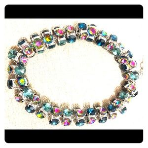 J. Crew Full Spectrum Crystal Necklace